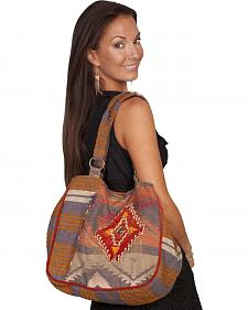 Scully Aztec Woven Shoulder Bag