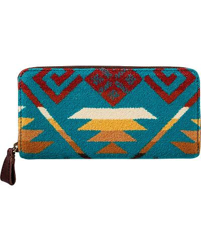 Pendleton Coyote Butte Zipper Wallet Western & Country GE201-52691