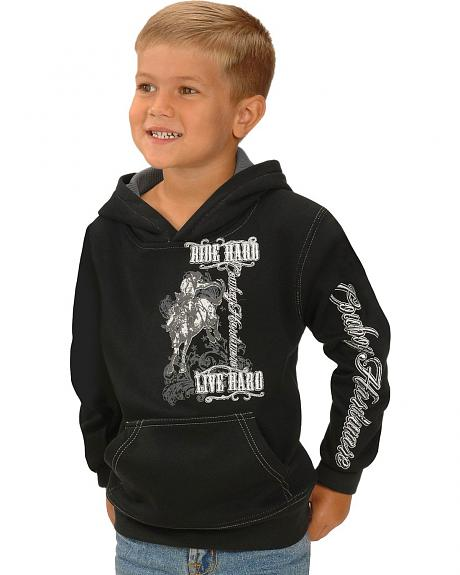 Cowboy Hardware Ride Hard Logo Sweatshirt