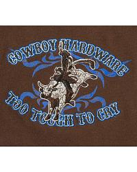 Cowboy Hardware Too Tough To Cry Sweatshirt at Sheplers
