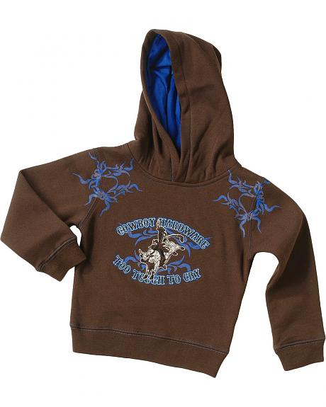 Cowboy Hardware Too Tough To Cry Sweatshirt