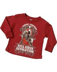 Cowboy Hardware Bullrider Revolution Tee- 2T-4T at Sheplers
