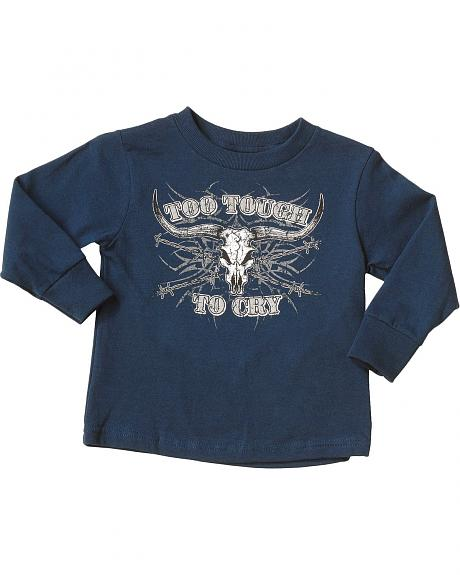 Cowboy Hardware Too Tough To Cry T-Shirt - 5-16