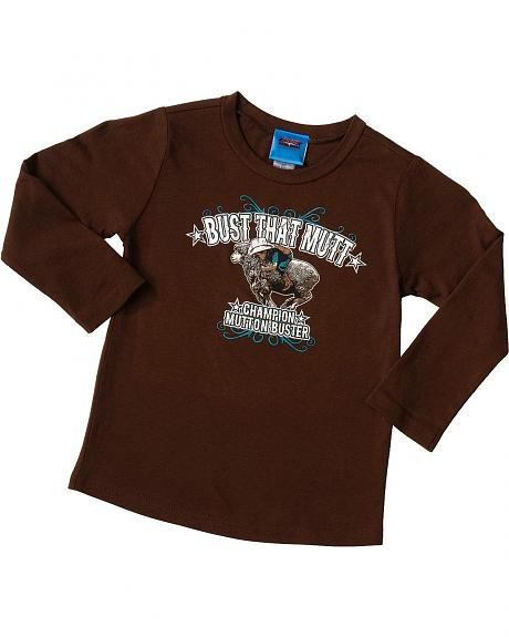 Cowboy Hardware Bust That Mutt T-Shirt - 2T-3T