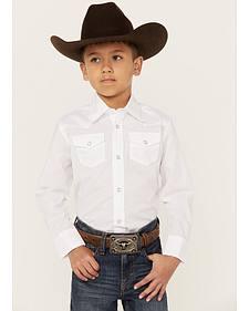 Wrangler Boys' Western Dress Shirt - 2-20