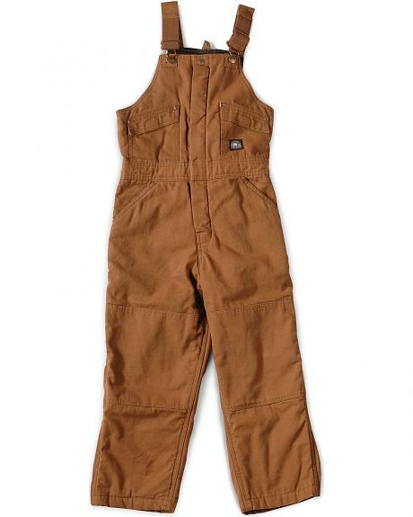 Polar King by Key Boys Youth Insulated Duck Bib Overalls - 4-20