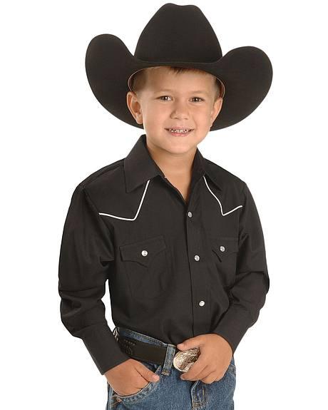 Ely Boys'  Western Shirt - 2-16