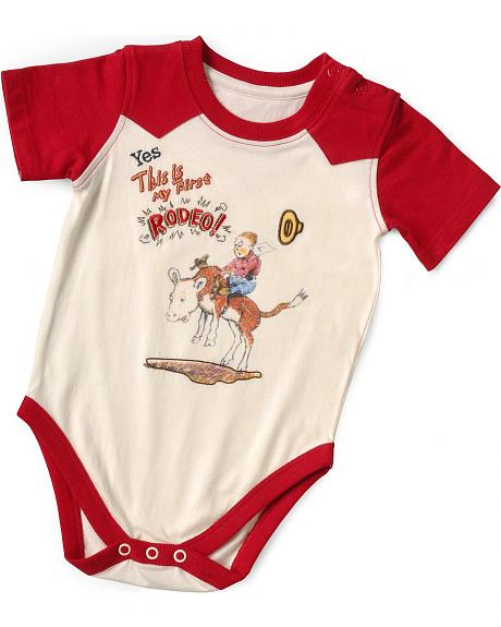 Wrangler Infants' First Rodeo Bodysuit - 6-18 Months