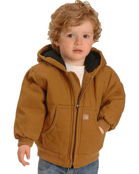 Carhartt Toddlers' Duck Active Jacket - 2T-4T