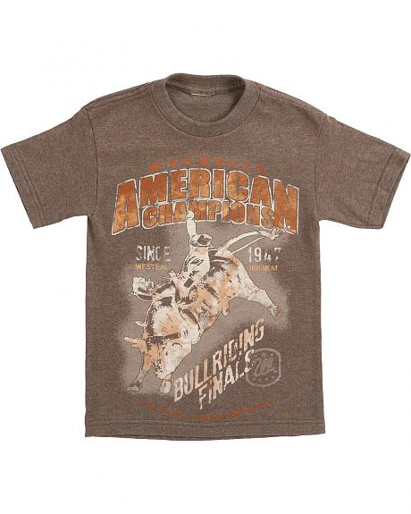 Wrangler Boys' All American Champion Bullriding Tee - 6-16