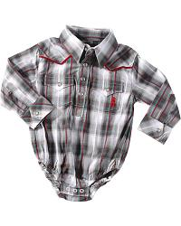 Wrangler Infant Boys' NFR Bodysuit Onesie - 6M-18M at Sheplers