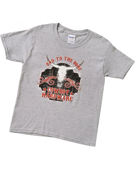Cowboy Hardware Toddler Boys' Bad To The Bone T-Shirt - 2T-4T