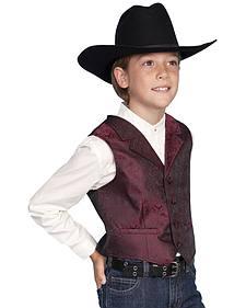 Scully Boys' Paisley Vest