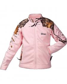 Rocky Girls' Realtree Camo Fleece Jacket