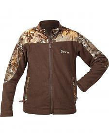 Rocky Boys' Realtree Camo Fleece Jacket