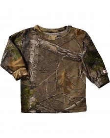 Bell Ranger Lil' Joey Infant Boys' Long-Sleeve Camo Shirt