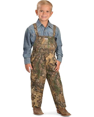 Toddler Boys Realtree Camo Bib Overalls Western & Country 490RX