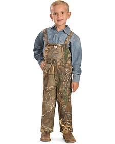 Toddler Boys' Realtree Camo Young Buck Overalls
