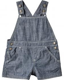 Wrangler Infant Boys' All-Around Baby Chambray Western Shortalls