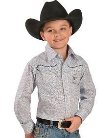 Cowboy Hardware Boys' Cowboy Untamed Western Shirt