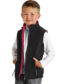 Roper Boy's Rangegear Hi Tech Fleece Vest
