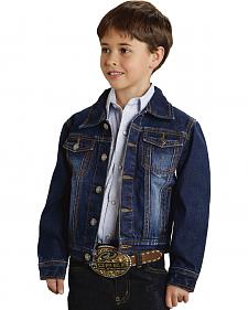 Roper Boy's Light Sanding Denim Jacket