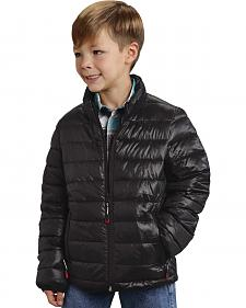 Roper Boy's Rangegear Crushable Black Jacket