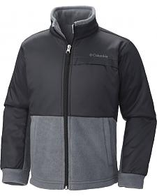 Columbia Boys' Steens Mountain Overlay Fleece