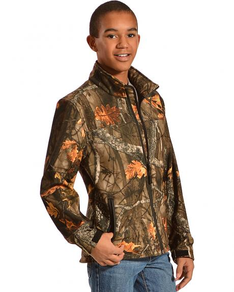 Red Ranch Boys' Bonded Camo Jacket
