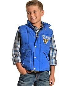 Cowboy Hardware Boys' Too Tough Nylon Vest