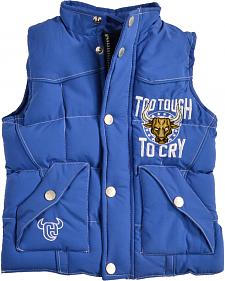 Cowboy Hardware Toddler Boys' Too Tough to Cry Nylon Vest