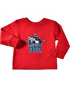 Cowboy Hardware Toddler Boys' Bull Riding Tee