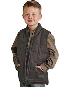 Roper Boys' Rangegear Canvas Vest