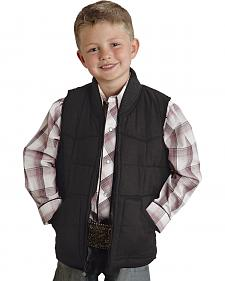Roper Boys' Rangegear Canvas Vest