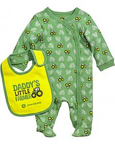 Daddy's Little Farmer Coverall Set