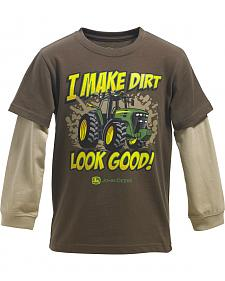 John Deere Boys' I Make Dirt Look Good T-Shirt