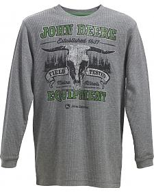 John Deere Boys' Field Tested Thermal T-Shirt