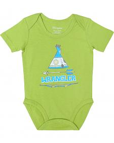 Wrangler Infant Boys' Teepee Bodysuit