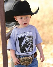 Cinch Boys' Toddler Grey Rodeo T-Shirt