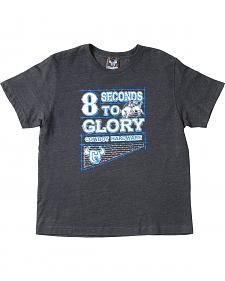 "Cowboy Hardware Boys' ""8 Seconds to Glory"" T-Shirt"