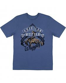 Wrangler Boys' American Western Short Sleeve T-Shirt