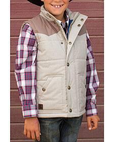 Cody James Boys' Pecos Long Sleeve Shirt