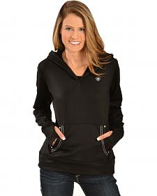 Ariat Women's Black Tek Fleece Hoodie