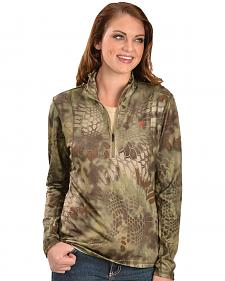 Ariat Women's Kryptek 1/4 Zip Bryce Pullover