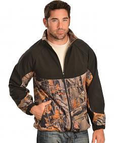 Red Ranch Men's Camo and Black Bonded Jacket