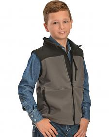 Red Ranch Boys' Two-tone Bonded Performance Vest