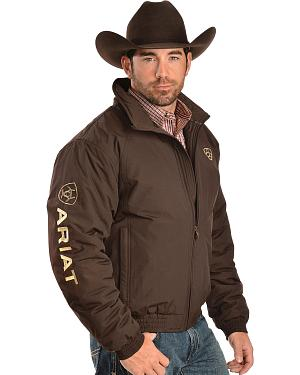 Ariat Brown Insulated Team Logo Jacket