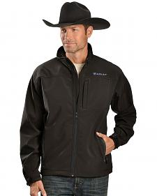 Ariat Men's Vernon Black Softshell Jacket