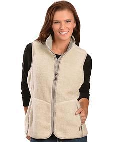 Woolrich Women's Ivory Baraboo Vest