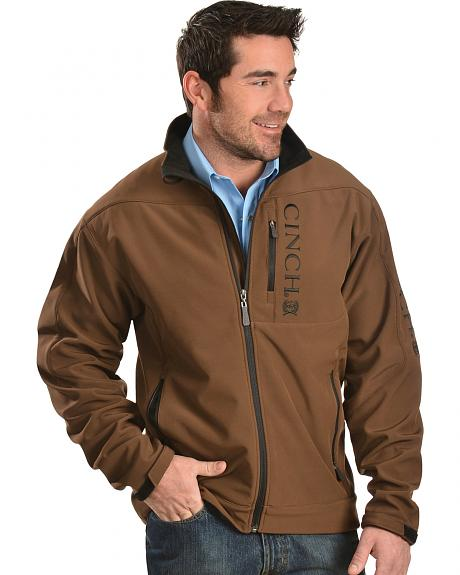 Cinch Men S Brown Bonded Hybrid Jacket Sheplers
